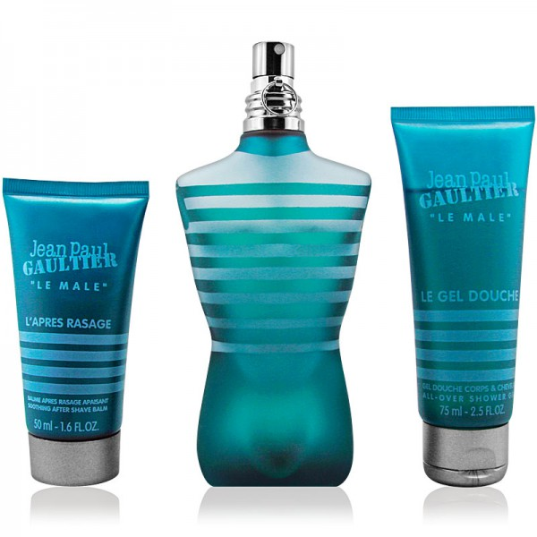 Jean Paul Gaultier Le Male Eau de Toilette 125ml + Shower Gel 75ml + AS 50ml