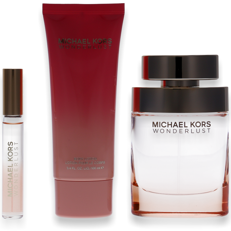 Michael Kors Wonderlust Eau de Parfum 100ml + Body Lotion 100ml + Deo Roller 10ml