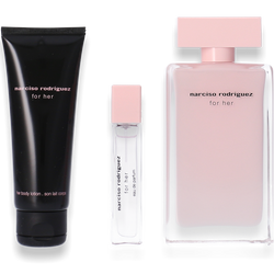 Narciso Rodriguez for Her Eau de Parfum 100ml + Body Lotion 75ml + Shower Gel 75ml