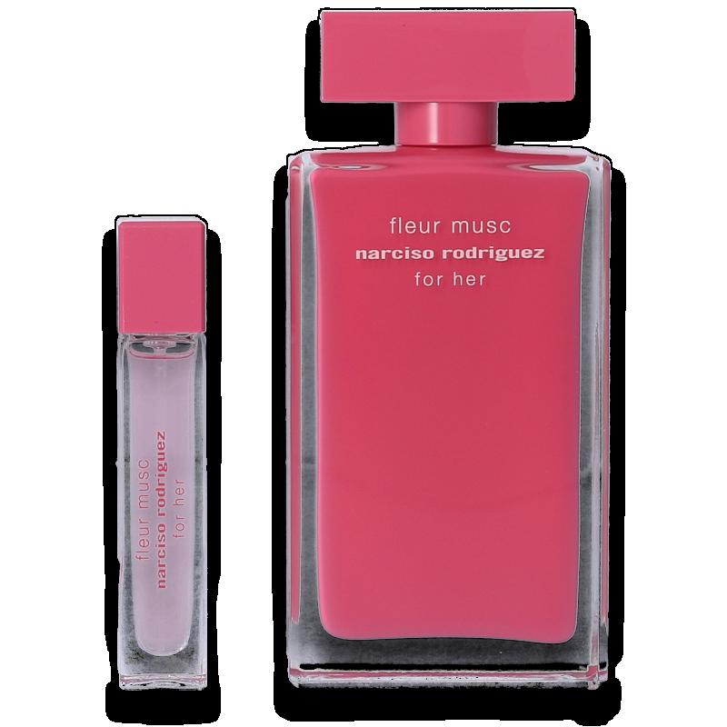 Narciso Rodriguez for Her Fleur Musc Eau de Parfum 100ml + Mini 10ml