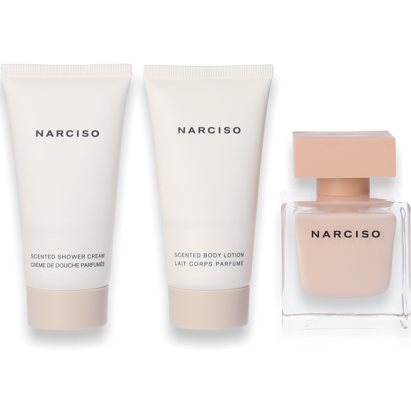 Narciso Rodriguez Narciso Poudrée Eau de Parfum 50ml + Body Lotion 50ml + Shower Gel 50ml - Parfüm für Dich