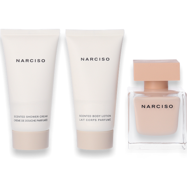 Narciso Rodriguez Narciso Poudrée Eau de Parfum 50ml + Body Lotion 50ml + Shower Gel 50ml