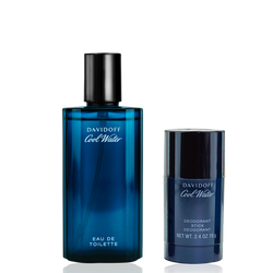 Davidoff Cool Water Eau de Toilette 125ml + 75ml Deo Stick