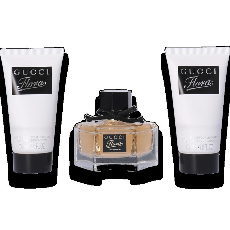 Gucci Flora by Gucci Eau de Parfum 50ml + 2x Body Lotion 50ml