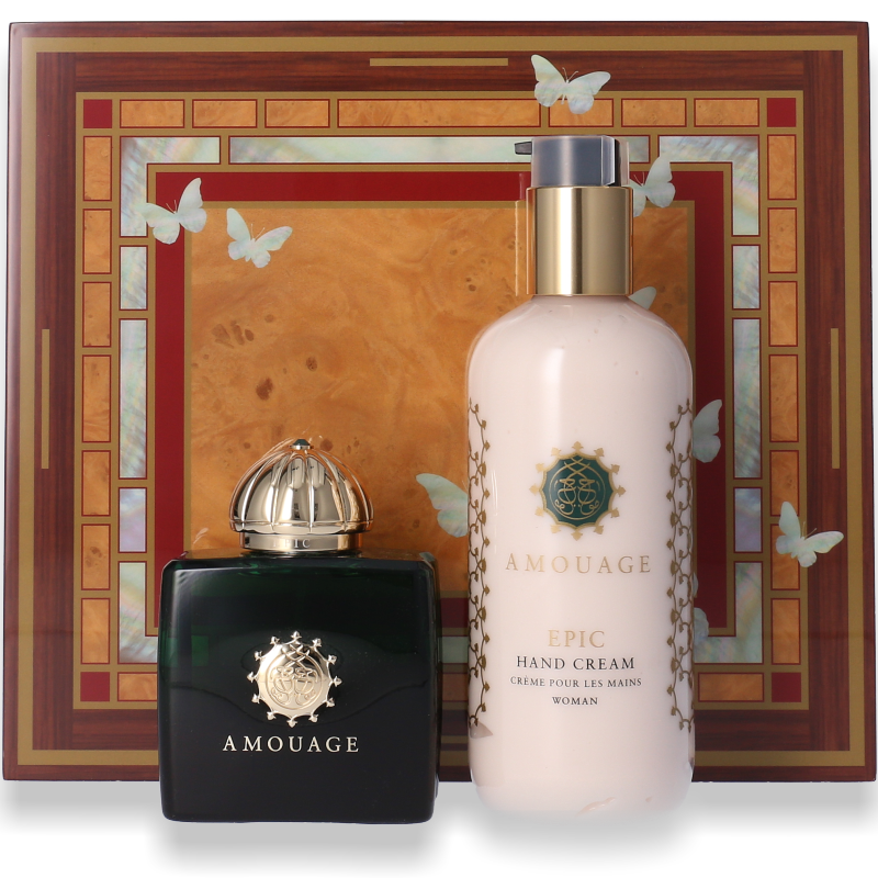 Amouage Epic Woman Eau de Parfum 100ml + Body Lotion 300ml  - Parfüm für Dich