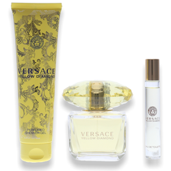 Versace Yellow Diamond Eau de Toilette 90ml + Shower Gel 150ml + Mini 10ml