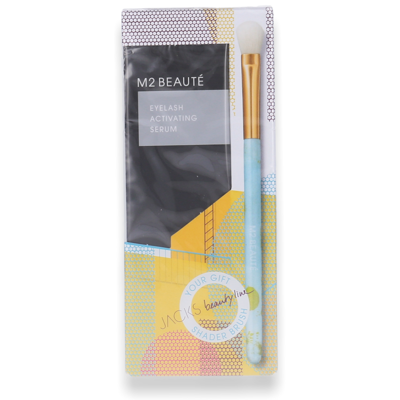 M2 Beauté M2 Lashes Eyelash Activating Serum 5ml + Schattierpinsel