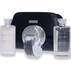 Bvlgari Bulgari Omnia Crystalline EdT 65ml + Lotion 75ml + Shower Gel 75ml + Tasche