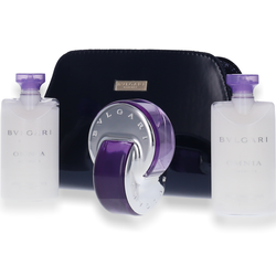 Bvlgari Bulgari Omnia Amethyste Eau de Toilette 65ml + Body Lotion 2x 75ml + Tasche