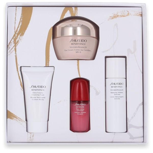 Shiseido Benefiance WrinkleResist24 Day Cream 50ml + 3 weitere Artikel