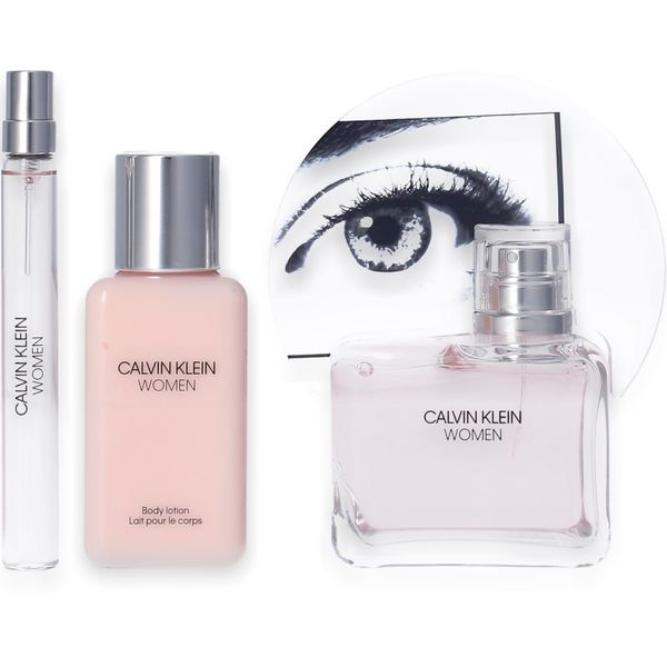 Calvin Klein Woman Eau de Parfum 100ml + Body Lotion 100ml + Mini 10ml