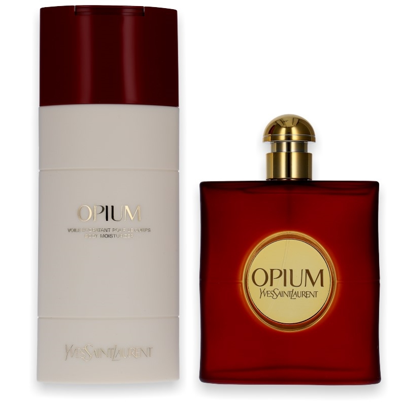 Yves Saint Laurent YSL Opium EdT 90ml + Body Lotion 200ml - Parfüm für Dich