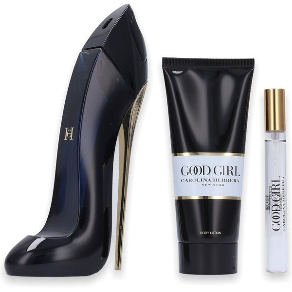 Carolina Herrera Good Girl Eau de Parfum 80ml + Body Lotion 100ml + Mini 5ml