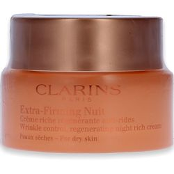 Clarins Extra Firming Wrinkle Control Firming Night Rich Cream for dry Skin 50ml