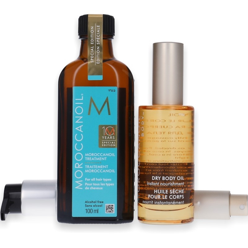 Moroccanoil Treatment 100ml + Dry Body Oil 50ml