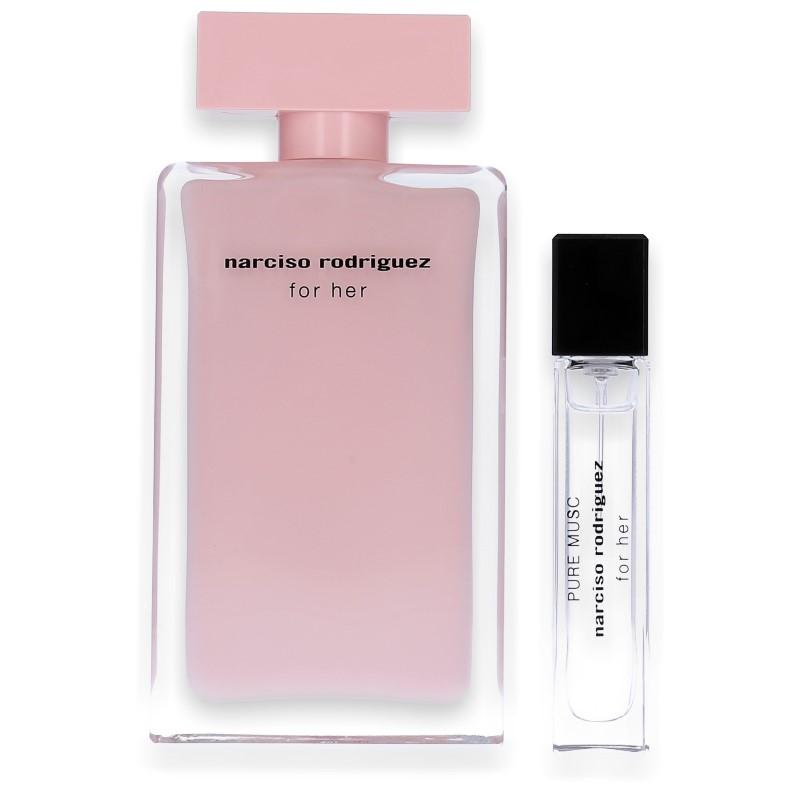Narciso Rodriguez for Her Eau de Parfum 100ml + Pure Musc 10ml