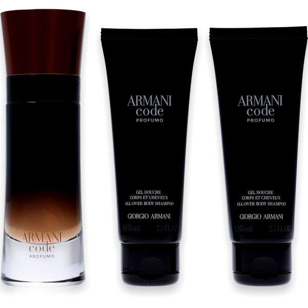 Giorgio Armani Code Homme Profumo Eau de Parfum 60ml + 2x Shower Gel 75ml