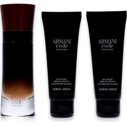 Giorgio Armani Code Homme Profumo Eau de Parfum 60ml + 2x Shower Gel 75ml