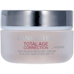 Lancaster Total Age Correction Amplified Rich Day Cream & Glow Amplifier SPF15 50ml