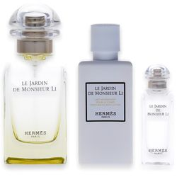 Hermès Le Jardin de Monsieur Li Set Eau de Toilette 50ml + Body Lotion 40ml  + Mini 7,5ml