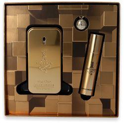Paco Rabanne One Million 1 Million Eau de Toilette 50ml + Mini 10ml + Key Ring