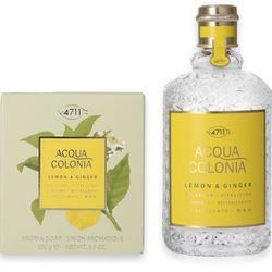 4711 Acqua Colonia Lemon & Ginger Eau de Cologne 170ml + Seife 100g