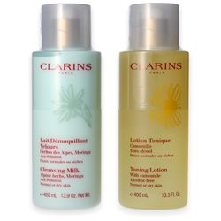 Clarins Duo Demaquillage normal or dry skin 2x 400ml