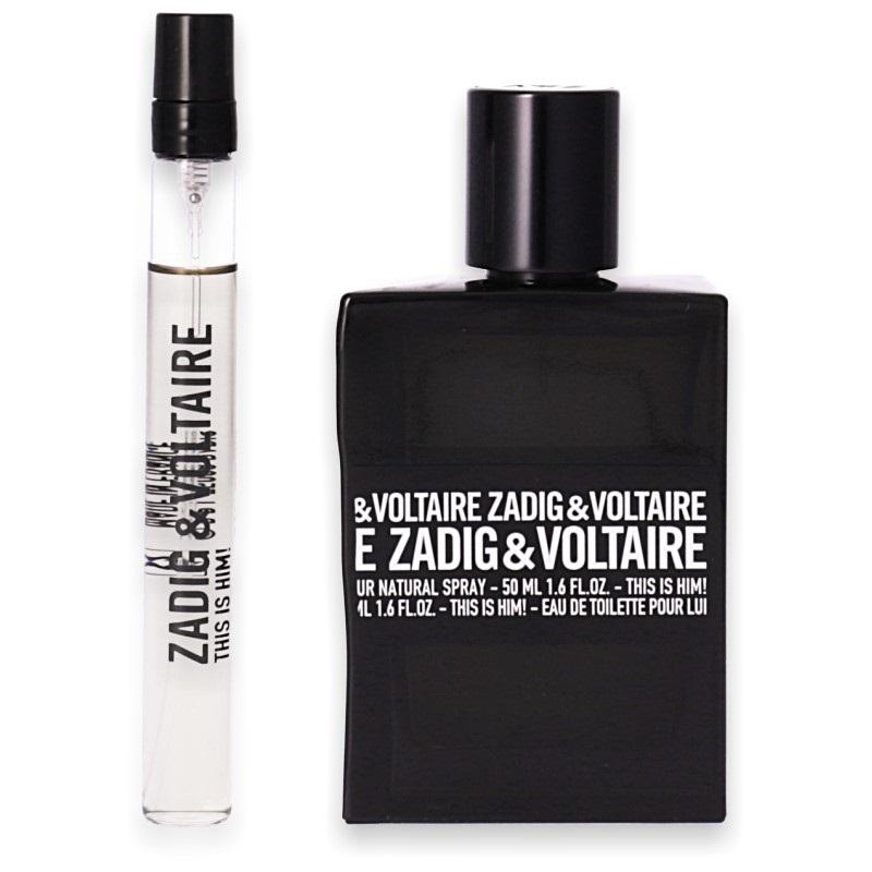 Zadig & Voltaire This is Him! Eau de Toilette 50ml + Mini 10ml