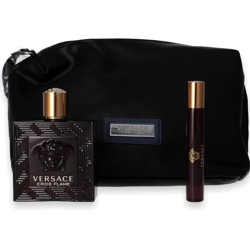 Versace Eros Flame Eau de Parfum 100ml + Mini 10ml + Tasche