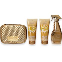 Moschino Fresh Couture Gold EdP 100ml + SG 100ml + BL 100ml + Tasche