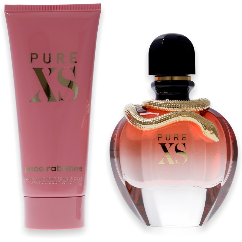 Paco Rabanne Pure XS for Her Eau de Parfum 80ml + Body Lotion 100ml