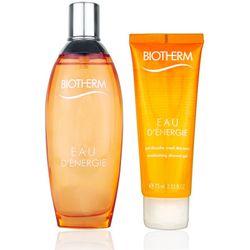Biotherm Eau d'Energie Geschenkset Eau de Toilette 100ml + Shower Gel 75ml