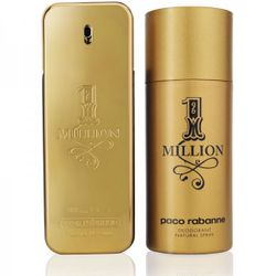Paco Rabanne One Million 1 Million EdT 100ml + Deo Spray 150ml