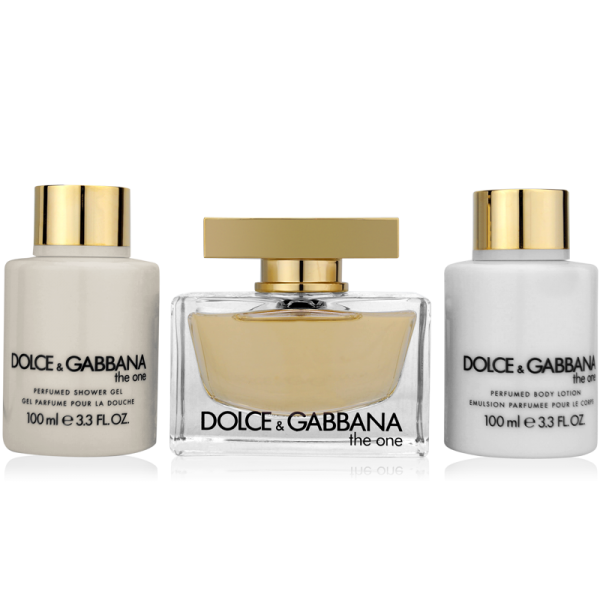 Dolce & Gabbana The One Luxus Set 75ml Eau de Parfum + 100ml BL+ 100ml SG