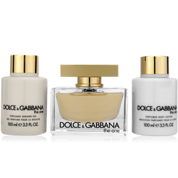 Dolce & Gabbana The One Luxus Set 75ml Eau de Parfum + 100ml BL+ 100ml SG