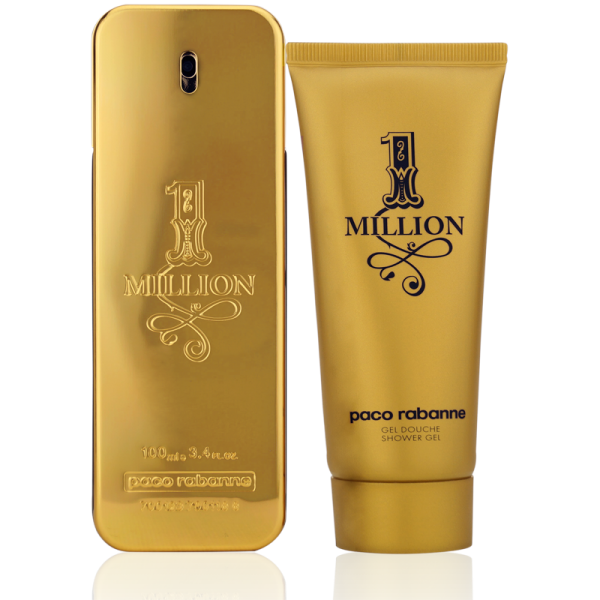 Paco Rabanne One Million 1 Million Eau de Toilette 100ml + Shower Gel 100ml