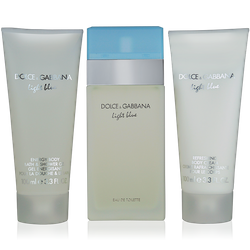 Dolce & Gabbana Light Blue Set Eau de Toilette 100ml + Body Lotion 100ml + Shower Gel 100ml