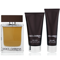 Dolce & Gabbana The One for Men Eau de Toilette 100ml + AS Balm 75ml + Shower Gel 50ml