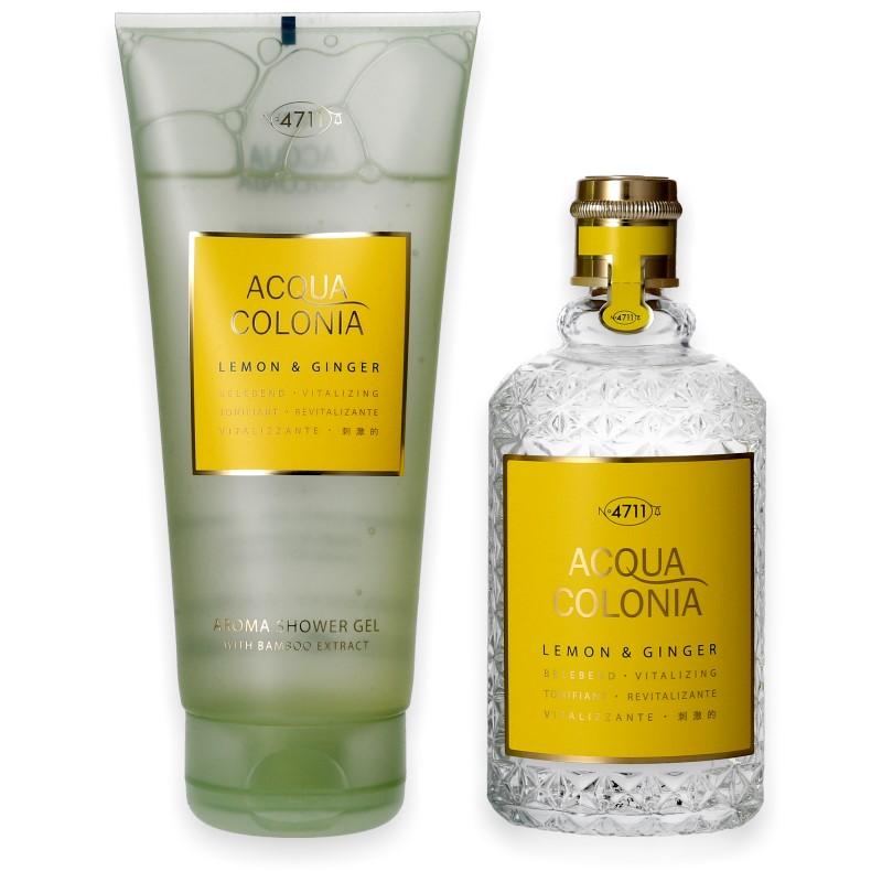 4711 Acqua Colonia Lemon & Ginger Eau de Cologne 170ml + Shower Gel 200ml