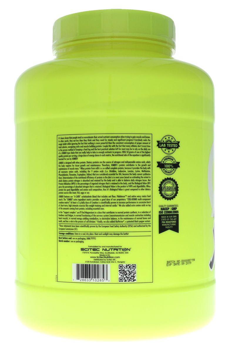 Scitec Nutrition JUMBO - 4400g Dose