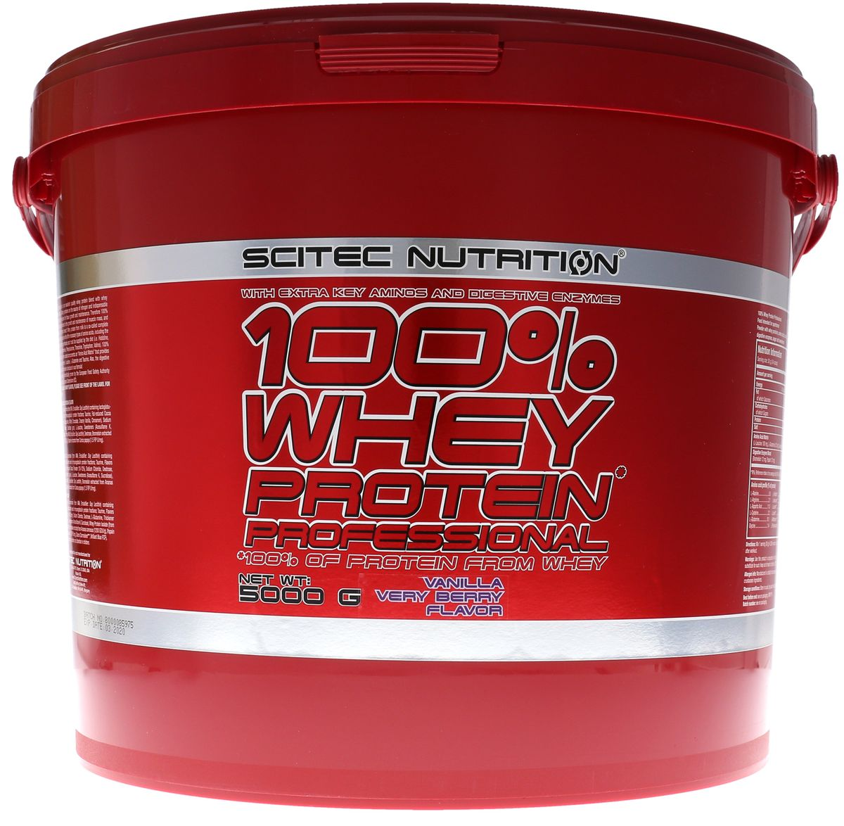 Scitec Nutrition 100% Whey Protein Professional 5000g Eimer