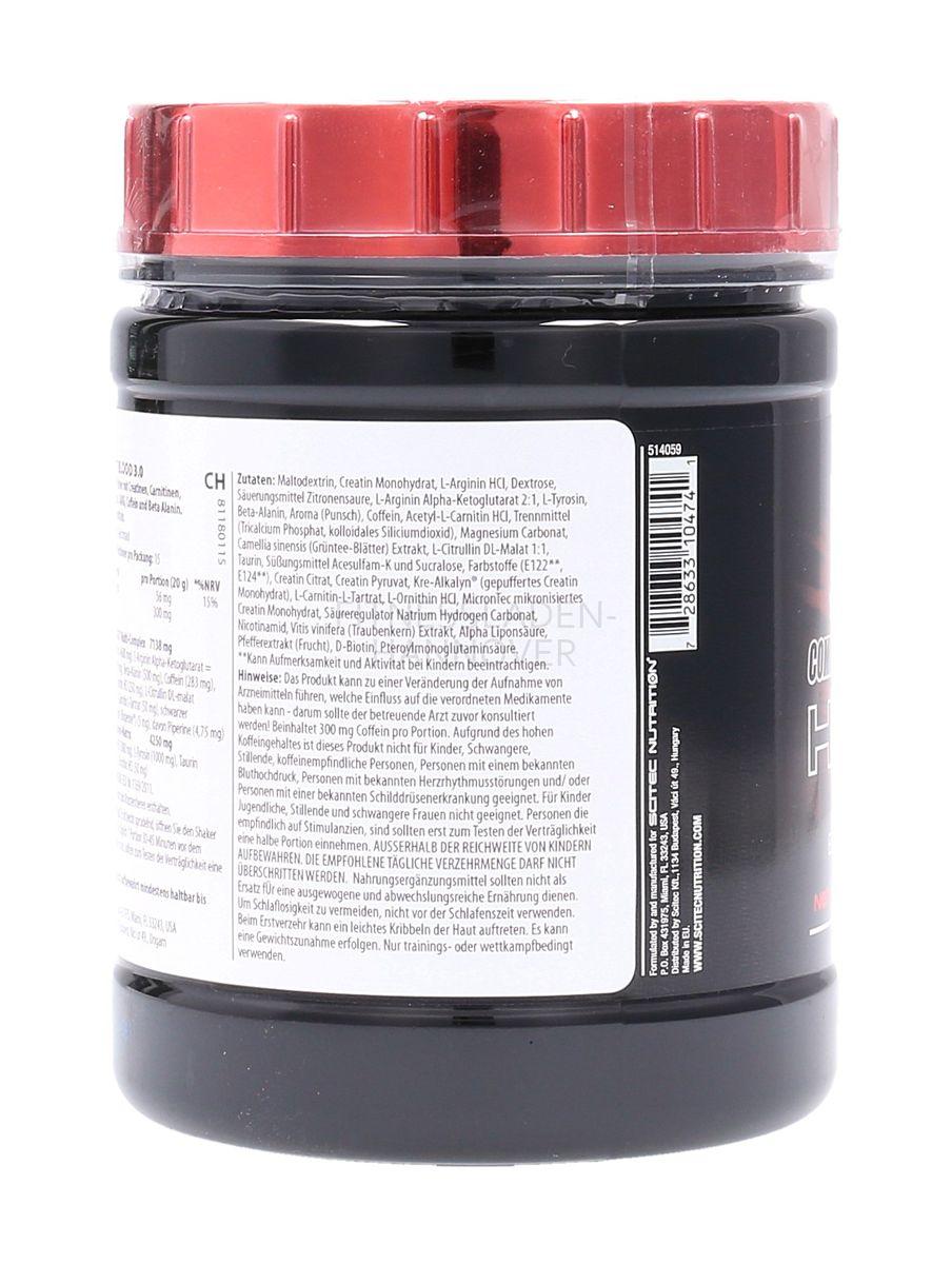 Scitec Nutrition Hot Blood 3.0 Trainingsbooster - 300g Dose