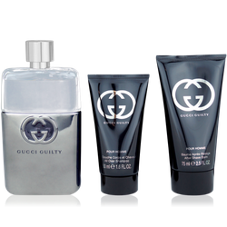Gucci Guilty Pour Homme Eau de Toilette 90ml + ASB 75ml + Shower Gel 50ml