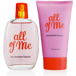 Mandarina Duck All of Me for Woman Eau de Toilette 100ml + Body Milk 150ml