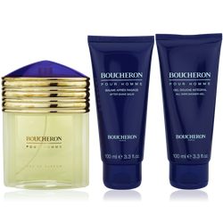 Boucheron pour Homme EdP 100ml + After Shave Balm 100ml + Shower Gel 100ml