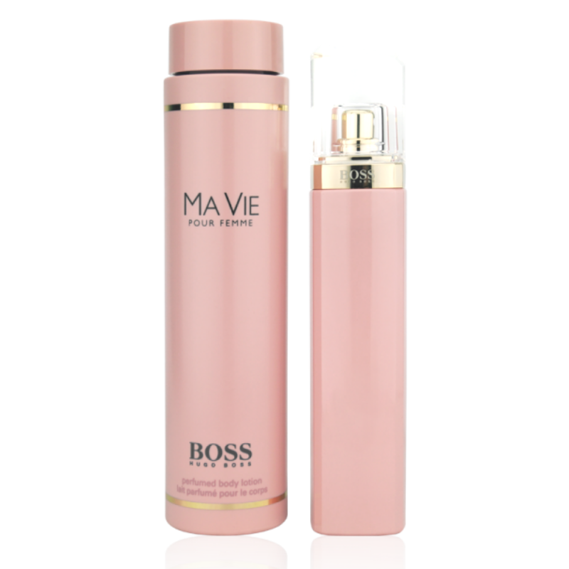 Hugo Boss Ma Vie Pour Femme Eau de Parfum 75ml + Body Lotion 200ml