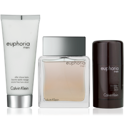 Calvin Klein Euphoria Men Eau de Toilette 100ml + ASB 100ml + Deo Stick 75ml