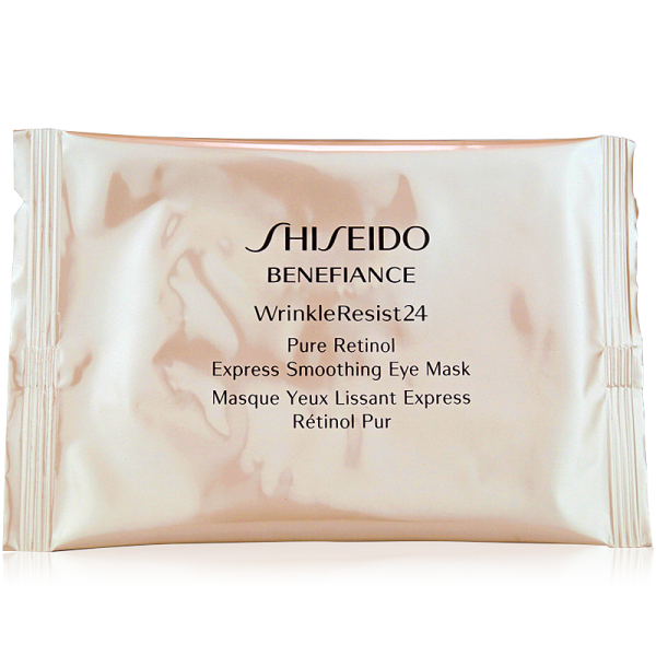 Shiseido Benefiance WrinkleResist24 Pure Retinol Express Smoothing Eye Mask 12 Stück