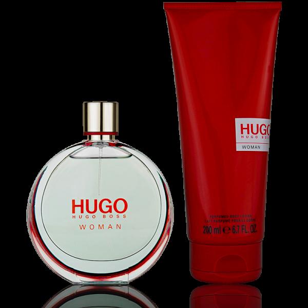 Hugo Boss HUGO Woman Eau de Parfum 75ml + 200ml Body Lotion