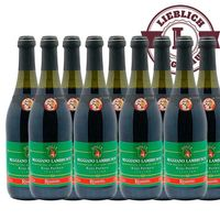 Roter Perlwein Regiano Lambrusco, Italien  (9x0,75L)
